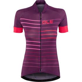 Alé Cycling Solid Ergo Kortærmet cykeltrøje Damer violet